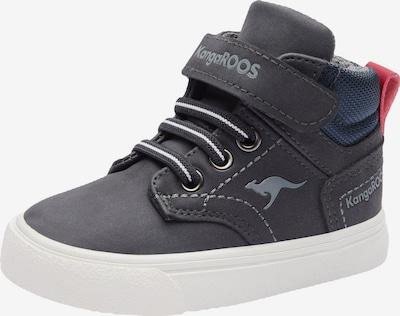 KangaROOS Sneaker 'Kivu' in navy / rauchblau / rot, Produktansicht
