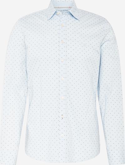 Marc O'Polo Overhemd in de kleur Lichtblauw / Zwart, Productweergave