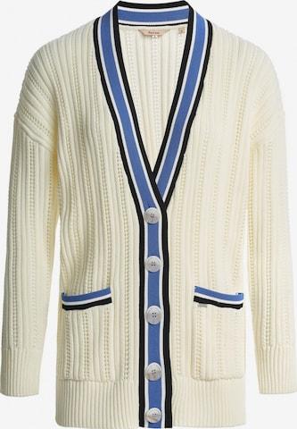 Salsa Knit Cardigan 'CARAMULO' in White