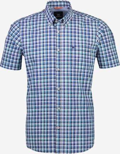LERROS Hemd in blau / rauchblau / mint / jade / weiß, Produktansicht