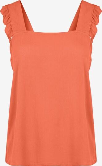ICHI Top 'IHMARRAKECH SO' in orange, Produktansicht
