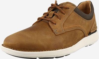 CLARKS Lace-Up Shoes 'Larvik' in Caramel, Item view