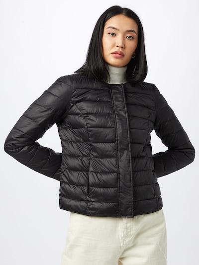 VERO MODA Prechodná bunda 'SORAYA' - čierna: Pohľad spredu