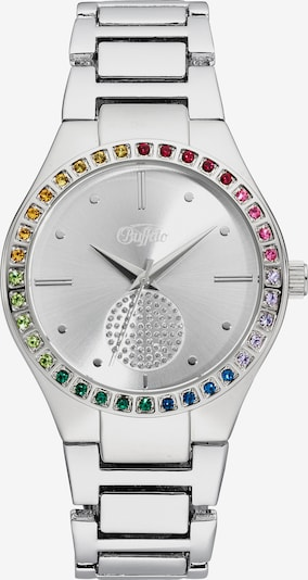 BUFFALO Uhr in silber, Produktansicht