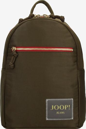 JOOP! Jeans Sac à dos 'Fina' en gris / kaki / rose, Vue avec produit