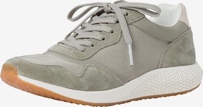 TAMARIS Sneakers in Cream / Olive / White, Item view
