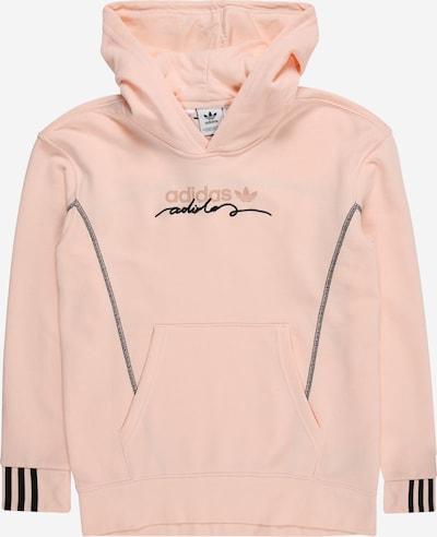 ADIDAS ORIGINALS Sweater majica u roza / crna, Pregled proizvoda