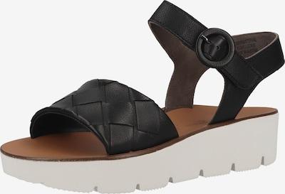 Paul Green Páskové sandály - černá, Produkt
