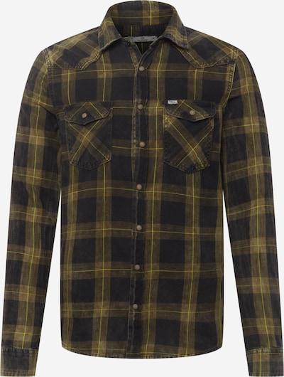 LTB Hemd 'Rohan' in khaki / oliv / kiwi / schwarz, Produktansicht