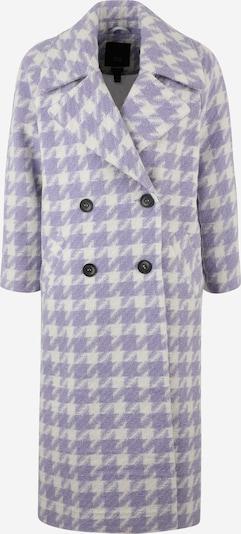 Demisezoninis paltas iš River Island Petite , spalva - purpurinė / balta, Prekių apžvalga