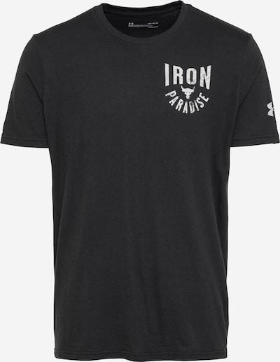 UNDER ARMOUR Functioneel shirt in de kleur Zwart / Wit, Productweergave