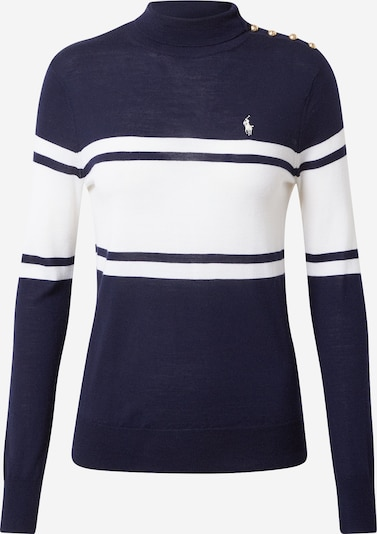 POLO RALPH LAUREN Sweater in Cream / Navy, Item view