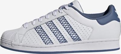 ADIDAS ORIGINALS Sneaker 'Superstar' in taubenblau / weiß, Produktansicht