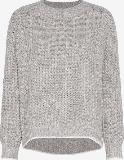 Calvin Klein Pullover in hellgrau / weiß, Produktansicht