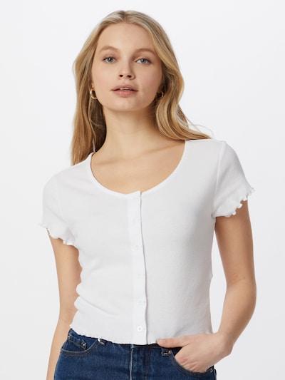 Urban Classics Tričko - biela: Pohľad spredu