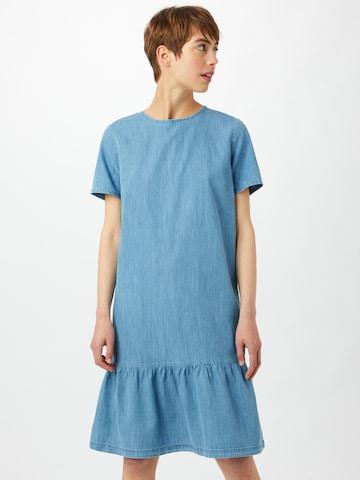 Cartoon Kleid in Blau
