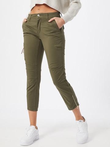Pantaloni 'Rich' de la MAC pe verde