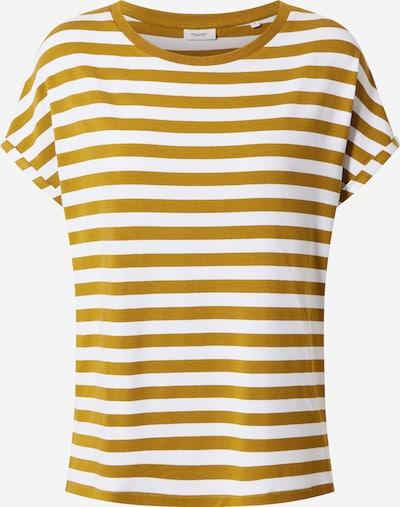 Marc O'Polo DENIM Shirt in dunkelgelb / weiß, Produktansicht