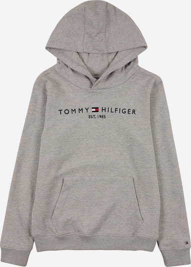 TOMMY HILFIGER Mikina - tmavomodrá / svetlosivá / červená / biela, Produkt