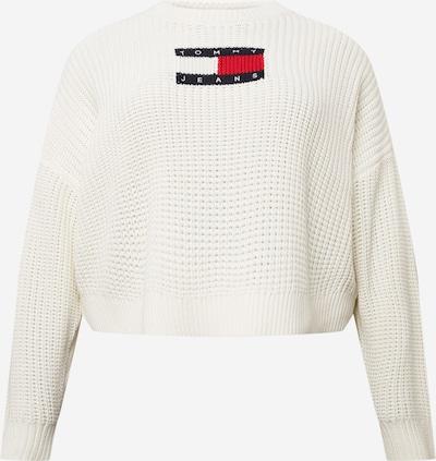 Tommy Jeans Curve Neulepaita värissä laivastonsininen / punainen / valkoinen, Tuotenäkymä