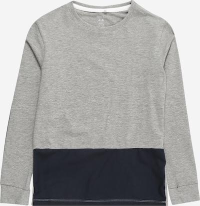 NAME IT T-Shirt 'OMALO' en marine / gris chiné, Vue avec produit