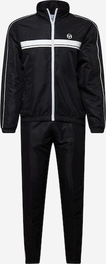 Sergio Tacchini Odjeća za vježbanje 'AGAVE' u crna / bijela, Pregled proizvoda