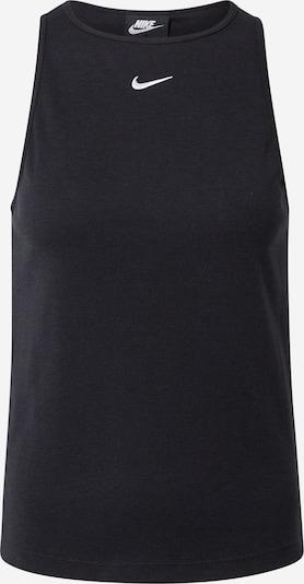 Nike Sportswear Top 'Essential' in schwarz, Produktansicht