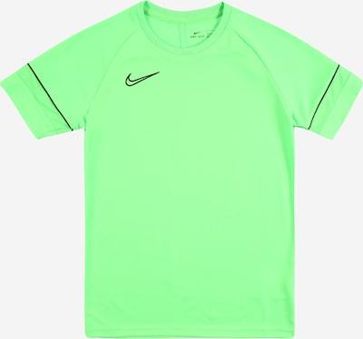 NIKE Sport-Shirt 'Academy' in neongrün / schwarz, Produktansicht