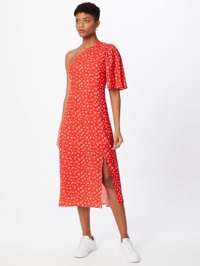 FRENCH CONNECTION Šaty 'FAYOLA' - béžová / červená, Model/ka