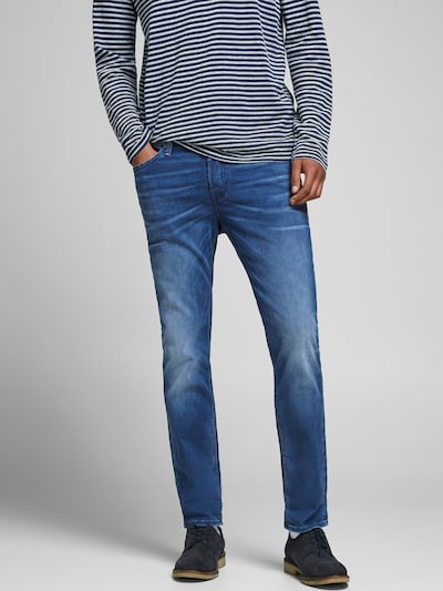 JACK & JONES Vaquero 'Tim' en azul denim, Vista del modelo