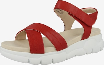 GERRY WEBER Sandale 'Arzignano' in Rot