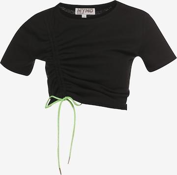 myMo ATHLSR Shirt in Zwart
