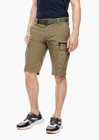 Pantalon cargo s.Oliver en vert