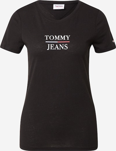 Tommy Jeans T-Shirt in navy / rot / schwarz / weiß, Produktansicht