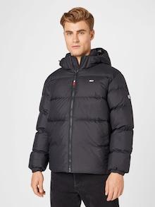 Tommy Jeans zimske jakne u crnoj boji