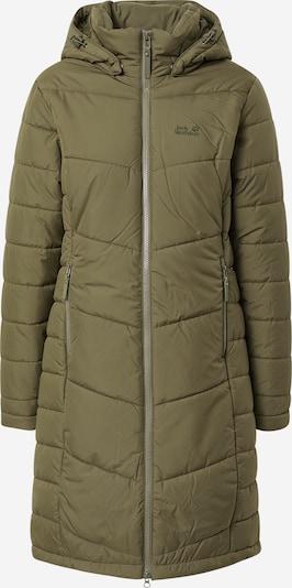 JACK WOLFSKIN Pitkä takki ulkoiluun 'NORTH YORK' värissä khaki, Tuotenäkymä