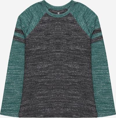 GAP Shirt in blaumeliert / grünmeliert, Produktansicht
