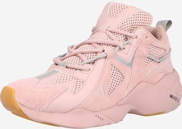 Sneaker low 'Tuzon' de la ARKK Copenhagen pe roz