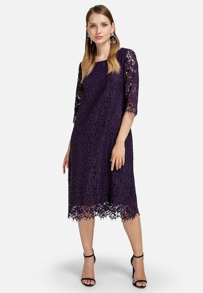 HELMIDGE Cocktailkleid Dress in lila, Modelansicht