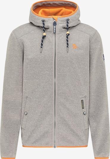 Schmuddelwedda Jacke in grau / orange, Produktansicht