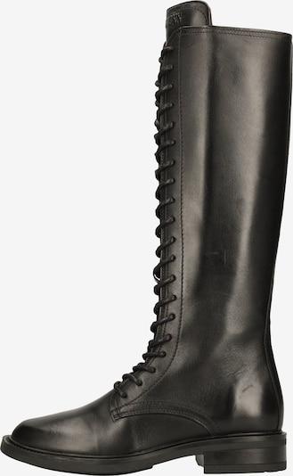 BRONX Bottes à lacets en noir, Vue avec produit