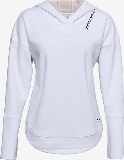 UNDER ARMOUR Sportsweatshirt ' Recover ' in weiß, Produktansicht