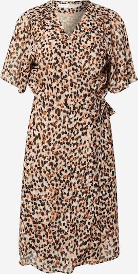 InWear Kleid 'Yasmeen' in camel / braun / cognac / schwarz / weiß, Produktansicht