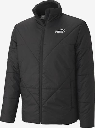 PUMA Winterjas in de kleur Zwart / Wit, Productweergave