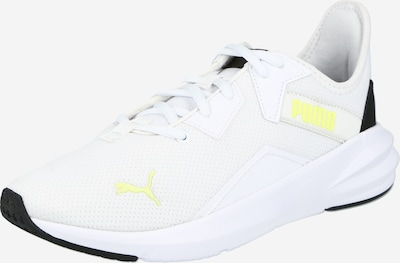 PUMA Sports shoe 'Platinum' in Yellow / Black / White, Item view