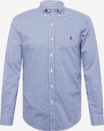 Polo Ralph Lauren Overhemd in de kleur Navy / Wit, Productweergave