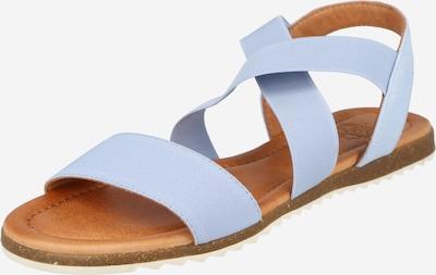 Apple of Eden Sandalen met riem in de kleur Lichtblauw, Productweergave