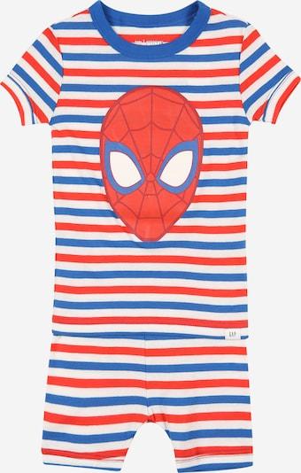 GAP Pijama en azul / rojo / blanco, Vista del producto