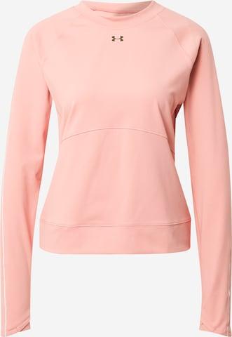 UNDER ARMOUR Athletic Sweatshirt in Pink