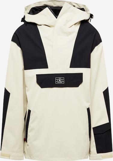 DC Shoes Sportjacke in beige / schwarz, Produktansicht